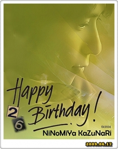 Nino26 : Happy Birthday